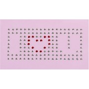 Gütermann / KnorrPrandell 1580106 - Cristalli Swarovski cuore