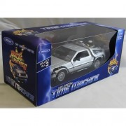 Welly Back To The Future Part 2 DeLorean Time Machine 1:24 Scale Diecast Model Car by Welly