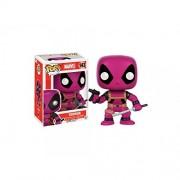 Funko - Figurine Marvel - Deadpool Rainbow Terror Purple Exclu Pop 10cm - 0849803093549