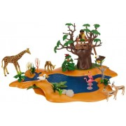 Playmobil 4827 African Wild Life Set Wild Life Waterhole