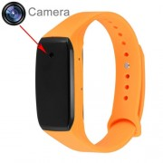 K18 HD 1080P 3.6MP Wearable Bracelet Camera Camcorder Support Maximum 32GB Micro SD Card(Orange)