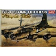 Academy AC12495 - 1:72 B-17F Flying Fortress Memphis Belle