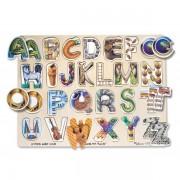 Puzzle Alfabet Art - Melissa and Doug