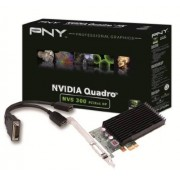 PNY NVIDIA NVS 300 PCIe x1 (2 Monitor) Retail 512Mb GDDR3, 64 bit, 2 x Display Port, LowProfile
