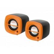 OMEGA SPEAKERS 2.0 OG-15 6W ORANGE USB