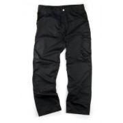 Scruffs - Pantaloni da lavoro leggeri e resistenti, lunghezza gamba 84 cm, colore: Nero 32