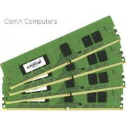 Crucial 16GB kit (4GBx4) DDR4 PC4-17000 Registered ECC 1.2V Desktop Memory