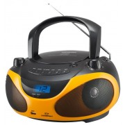 Micro Sitem Sencor SPT 228 BO, CD/MP3 Player, Radio FM (Negru/Portocaliu)