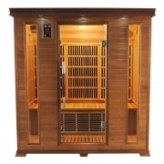 items-france LUXE 4 PL - Sauna infrarouge luxe 4 places 175x120x190cm