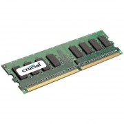 Crucial 8GB DDR2 SDRAM Memory Module - 8 GB - DDR2 SDRAM - 667 MHz DDR667/PC5300 - 1.80 V - ECC - Registered - 240-pin - DIMM - CT102472AB667