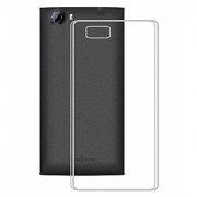 Panasonic P55 Novo Back Cover (Premium Quality Soft Transparent Silicon TPU Back Cover)