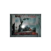 Howard Fogg Big Train Small Town 1000 Piece Puzzle + Fix Glue by F-INK