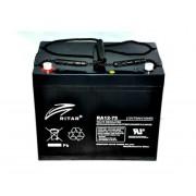 RA12-75 12V75Ah Zárt ólomzselés akkumulátor