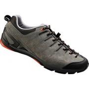 Shimano - Sh-Ct80, Zapatos de Ciclismo de Carretera Hombre, Gris (Grey/Orange)