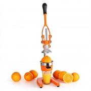 oneConcept EcoJuicer XXL Saftpresse orange Hebelmechanik handbetrieben