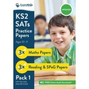 KS2 SATs Practice Papers (English & Maths) for the 2016 SATs. New Curriculum Ready 2017 by Exam Ninja