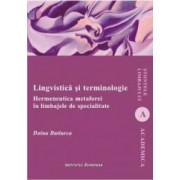 Lingvistica si terminologie - Doina Butiurca