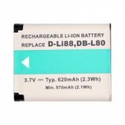 Power3000 PL178B.354 - Acumulator replace Li-ion tip Pentax D-Li88, 620mAh