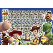 Find the 300 piece jigsaw puzzle 3D Magic Eye Magic Alien! (Toy Story 3) DME-300-241 (japan import)