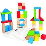Hape - Early Explorer - Maple Wood Building Blocks