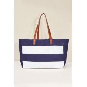 Womens Next Beach Bag - Navy
