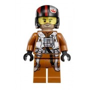 Lego Star Wars: The Force Awakens Poe Dameron X Wing Pilot Minifigure