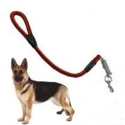 Guinzaglio per cani in corda di nylon resistente con moschettone in metallo 80 cm