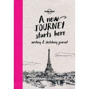 Reisdagboek Dagboek - schetsboek Writing & Sketching Journal | Lonely Planet
