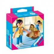 Playmobil 626636 - Familia Niño Caballito Y Mamá