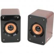 Sistem audio 2.0 Omega OG11W WOOD 5W BROWN
