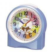 Rhythm Kinderwecker für Jungen Blau Lernwecker ohne Ticken - 70827-5