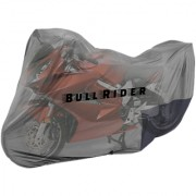 Bull Rider Two Wheeler Cover for Bajaj Discover 100 M with Free Microfiber Gloves