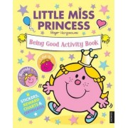 Little Miss Princess Being Good Activity Book by Roger Hargreaves