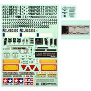 Tamiya 319495770 - Accessori: Sticker metallo Mercedes Benz Actros 56335