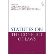 Statutes on the Conflict of Laws by Martin George