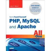 Sams Teach Yourself PHP, MySQL and Apache All in One by Julie Meloni