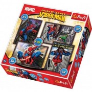 Trefl 4-in-1 Disney Marvel Spiderman Puzzle (207 Pieces)