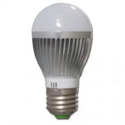 Žárovka LED 3W E27 Alu tělo 6000-6500K Cool White - studená bílá