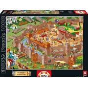 Educa - 16343 - Puzzle Classique - Moyen-Âge - 1000 Pièces