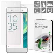 Conjunto de Protecção 4smarts 360 para Sony Xperia XA, Xperia XA Dual - Transparente