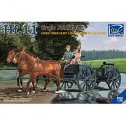riich Models rv35013 - Figura German Horses Drawn Large Field Kitchen