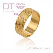 Wedding III (24K) karikagyűrű