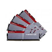 G.Skill G. Skill F4–4000 C18q-32gtz Trident Z Series 32 Go (4 x 8 Go) DDR4 4000 MHz PC4–32000 Cl18 kit mémoire double canal – Argenté/noir
