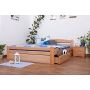 Steiner Shopping Youth bed Easy Sleep� K4 incl. 2 drawers and 1 cover plate, solid beech wood, c