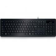 GENIUS SlimStar 130 USB US crna tastatura