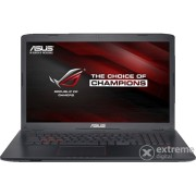 "Laptop Asus GL752VW-T4517D 17,3"", negru, layout tastaura HU"