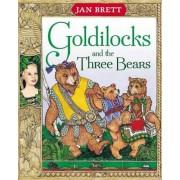 Goldilocks and the Three Bears by Jan Brett