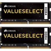 Mémoire RAM Value Select SO-DIMM DDR4 32 Go (2 x 16 Go) 2133 MHz CL15 - Kit Dual Channel RAMPC4-17000 - CMSO32GX4M2A2133C15 (garantie 10 ans par Corsair)