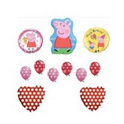 Peppa Pig Red Birthday Party Balloon Kit