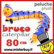 PELOUCHE BRUCO BLU lunghezza 80 cm